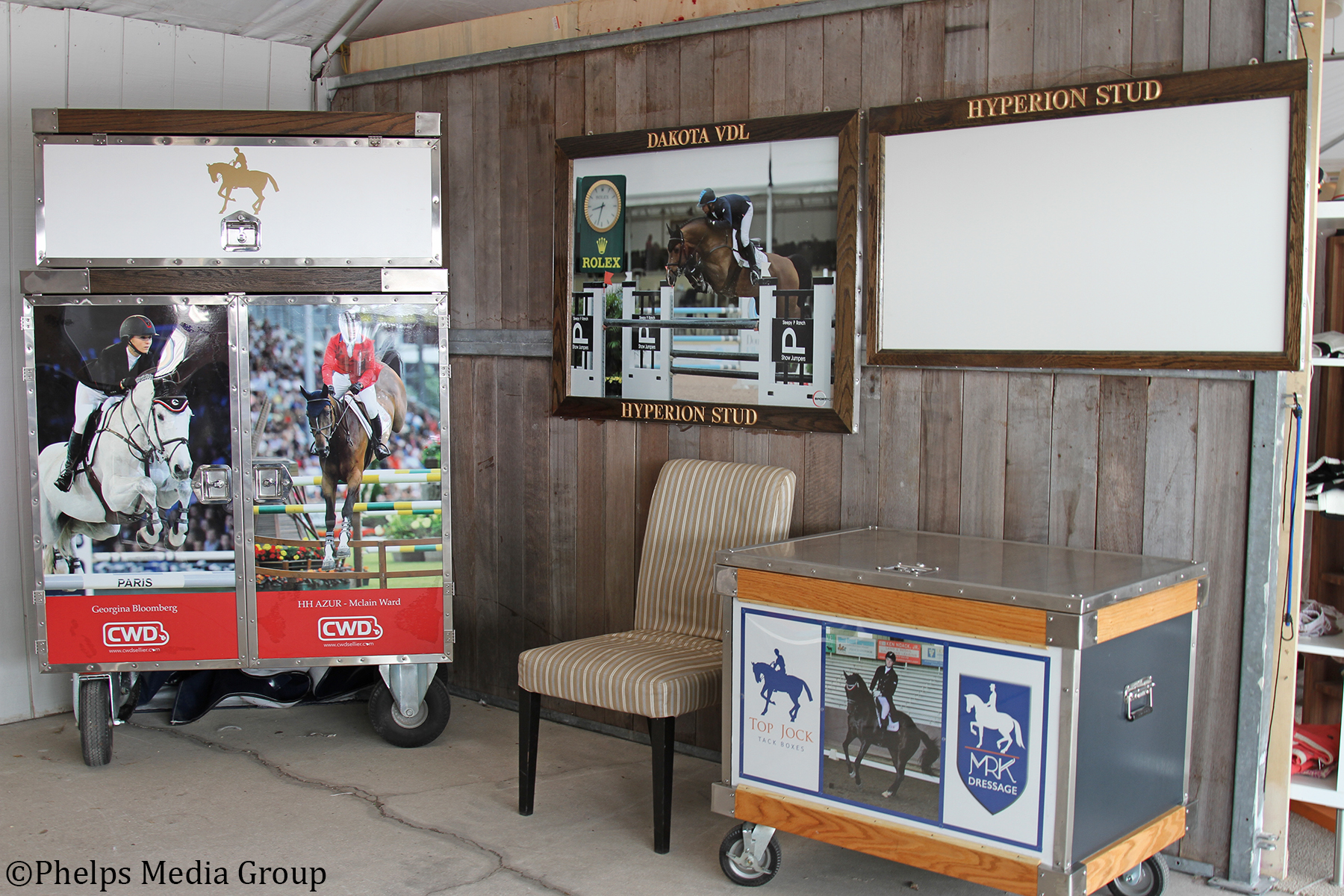 Hurry to Top Jock Tack Boxes Booth During Last Two Weeks of WEF!